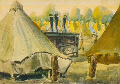camp jackson south carolina by charles ephraim burchfield