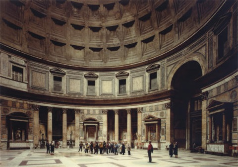 pantheon rome by thomas struth