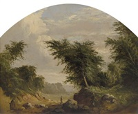 untitled (landscape) by robert scott duncanson