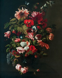 velké květinové zátiší by simon pietersz verelst