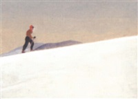 untitled - skier by eric aldwinckle