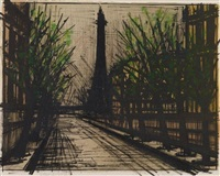 album paris: la tour eiffel by bernard buffet