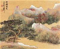 江山粹美册 (album of 12) by xie zhiliu