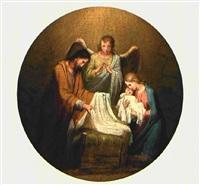 heilige familie by josef arnold the elder