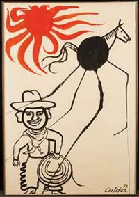 cowboy by alexander calder