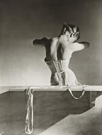mainbocher corset paris by horst p horst