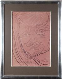portret męski by stanislaw ignacy witkiewicz