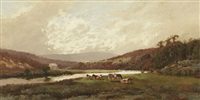a spring morning, lane cove, new south wales by william charles piguenit