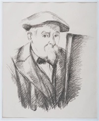 autoportrait by paul cézanne