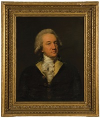 portrait of a gentleman (general john moore?) by lemuel francis abbott