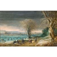paysage d'hiver by denis van alsloot