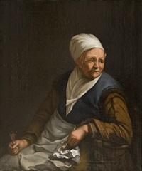 self portrait in a velvet cap with plume by rembrandt van rijn