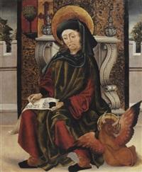 saint luc écrivant l'evangile by portuguese school (16)