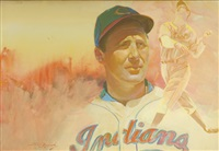 hank greenberg by c.w. mundy