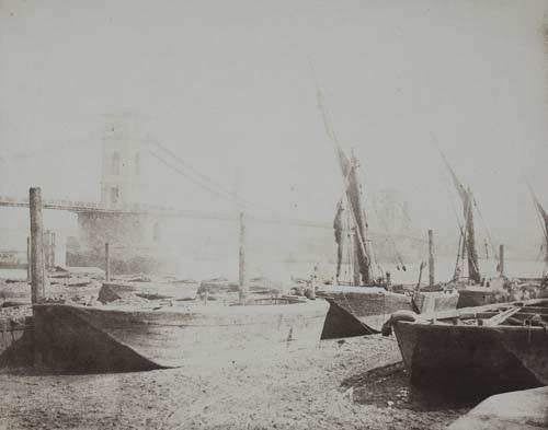 hungerford bridge by william henry fox talbot