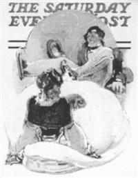 falling iceskaters by samuel nelson abbott