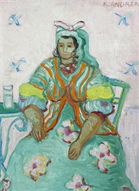 algerian woman from arles by kees andrea