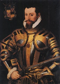 portrait of thomas butler, 10th earl of ormonde by steven van der meulen