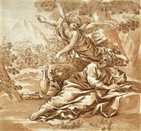 elijah and the angel by anton domenico gabbiani