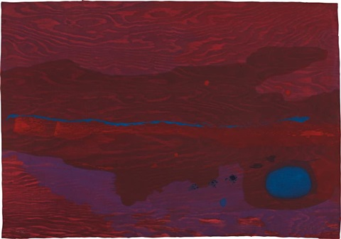 japanese maple by helen frankenthaler