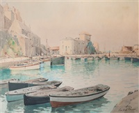 port by paul emile lecomte