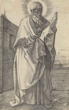 saint paul by albrecht dürer