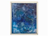 ibiza-composition in blue by rudolf (rudi) baerwind