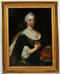 catherine ii de russie by anonymous (18)