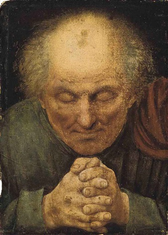 a monk in prayer by jan matsys massys