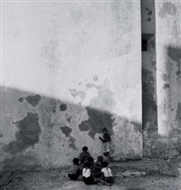 children playing by carel blazer