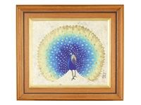 peacock by sanrei kodama