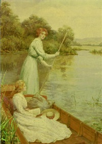 a river idyll by william f. ashburner