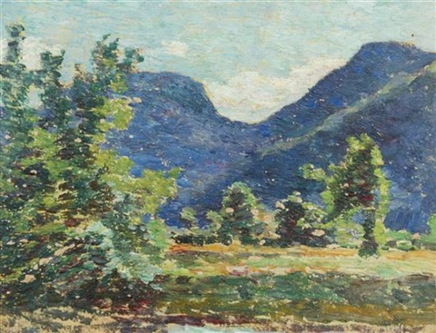 mountain clearing by walter griffin