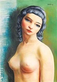buste de femme by moïse kisling