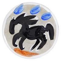 petit cheval no.61/little horse no.61 by pablo picasso