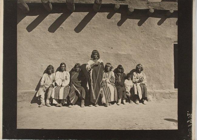 pueblo elders possibly zuni by john k hillers