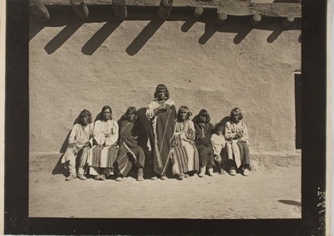 pueblo elders, possibly zuni by john k. hillers