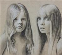 girl child by richard phillips