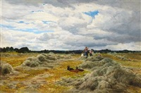 harvest time by samuel bough