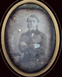 autoportrait by auguste houze de l' aulnoit