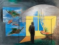 einsamkeit - solitude by friedrich (fritz) ahlers-hestermann