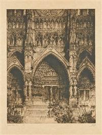 cathédrale d'amiens en france by jules de bruycker