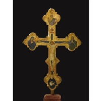 processional cross by jacopo del sellaio