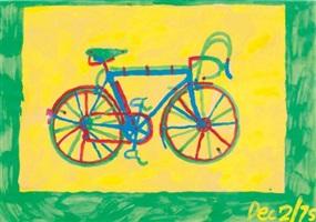 mariposa - bicycle #4 by greg curnoe