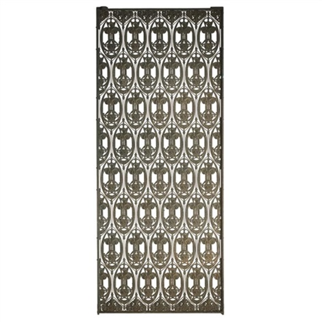 elevator grille from the guaranty building, buffalo, new york by dankmar adler