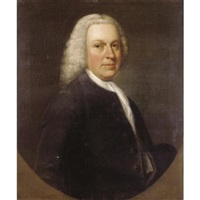 portrait of a gentleman, traditionally identified as lord chesterfield by francis lindo