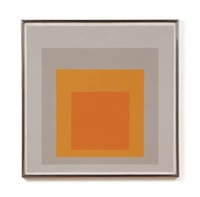 study for homage to the square: kind regards by josef albers