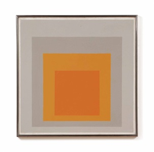 study for homage to the square kind regards by josef albers