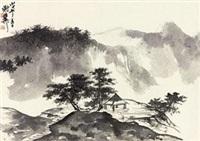 春山小景 by xie zhiliu
