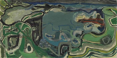 clodgy: st. ives: 1951 by patrick heron